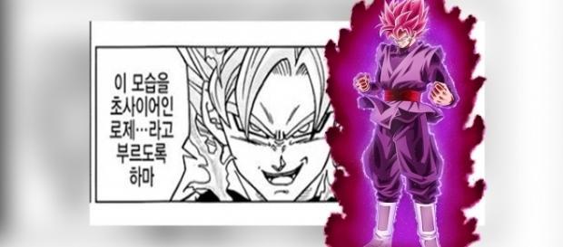 """""""FanArt"""" de Goku Black realizado por """"NekoAr""""."""