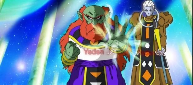 Nuevo dios destructor en la serie de DBS