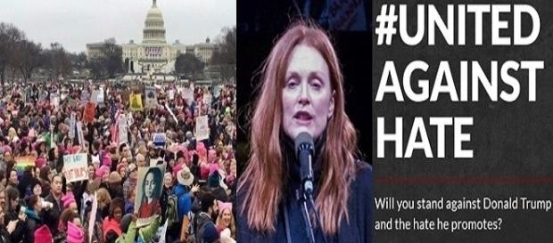 Protestos contra Donald Trump terminam com violência
