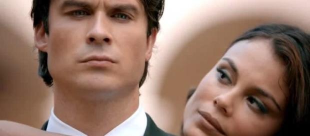 The Vampire Diaries 8x09: Damon consegue resistir a Sybil (Foto: CW/Screencap)