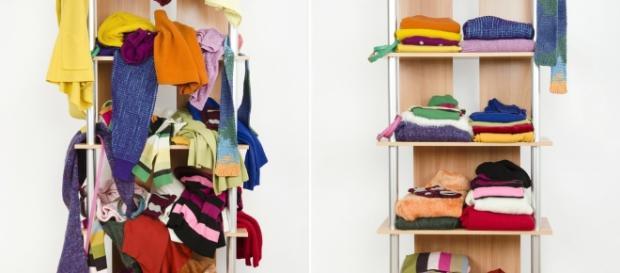 Viu como fica mais bonito quando o armário está organizado? fonte: OrganizeShop