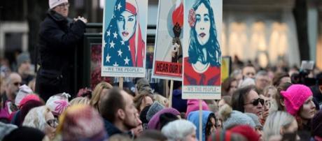 Multitudinaria 'Marcha de las Mujeres' contra Donald Trump colapsa ... - com.ve