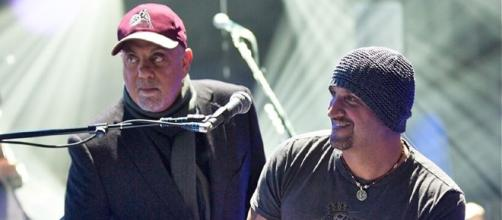 Billy Joel and Mike DelGuidice. Photo by Thebiv19, Courtesy of Wikimedia Commons.