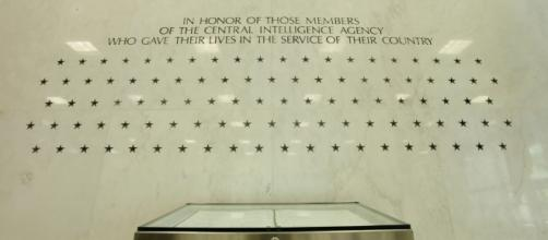 Central Intelligence Agency wall of honor, US Govt. photo, no copyright