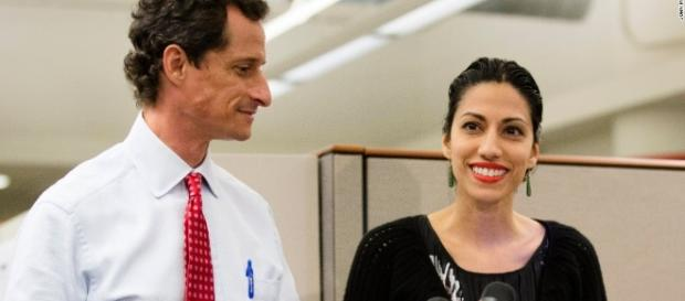 Anthony Weiner's wife Huma Abedin emerges from privacy ... - cnn.com
