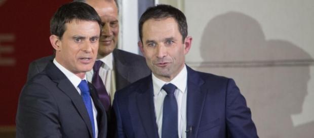 Benoit Hamon en tete devant Manuel Valls