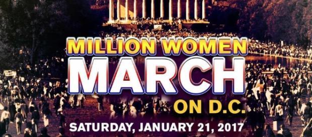 Chamada para a manifestação em Washington D.C