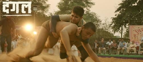 A still from 'Dangal' (Image credits: Twitter.com/Utvfilms)