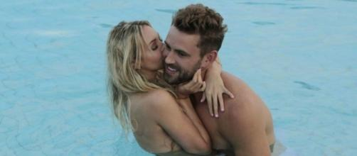 'Bachelor' Nick Viall and Corinne Olympios - ABC Television Network