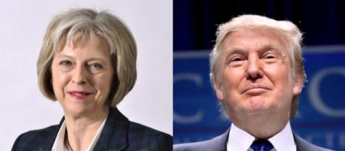 FP | Theresa May to visit Donald Trump in spring - frontpage.lk