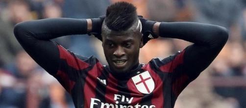 Milan-Niang, è rottura. Nella foto, il giovane attaccante francese