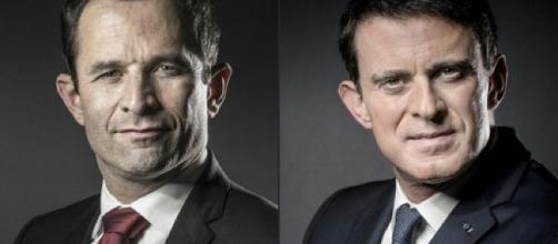 Primaire de la guache : Hamon et Valls