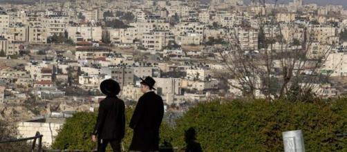 Veduta di Gerusalemme Est dove verranno costruiti i nuovi insediamenti
