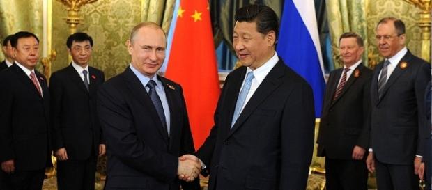 Die Präsidenten Russlands und Chinas. (Foto: kremlin.ru)