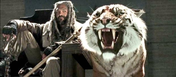 No No9º episódio da 7ª temporada de TWD o Rei Ezekiel será um possível aliado de Rick