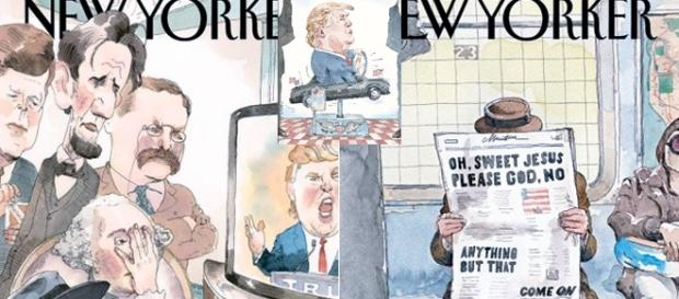 The New Yorker n'a pas toujours ménagé Donald Trump et s'est abstenu de le placer trop souvent en couverture