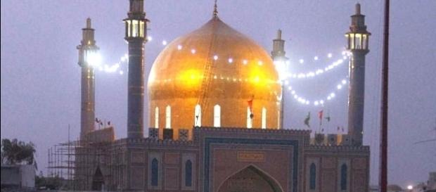 The sufi shrine in where over 100 dies. http://www.rediff.com/news/report/pakistan-blast-at-sufi-shrine-lal-shahbaz-qalandar-updates/20170216.htm