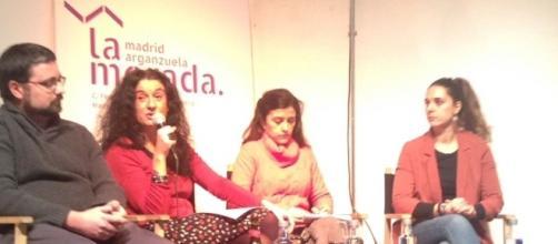 Daniel Iriarte, Cristina Sánchez, Olga Rodríguez y Noelia Vera