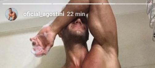 Fabio Agostini enciende las redes con sugerente foto