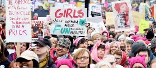 Girl's just want to have FUNdamental rights. Un argument féministe revenant souvent