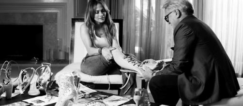 Jennifer Lopez e Giuseppe Zanotti