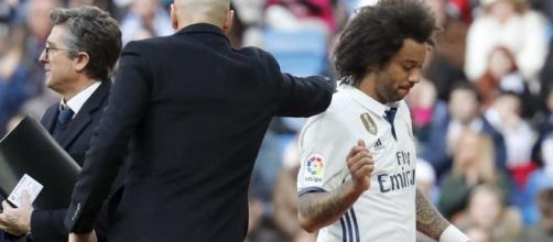 Marcelo y Modric estarán entre tres y cuatro semanas de baja. Foto: EFE