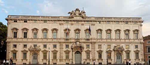Palazzo della Consulta a Roma.