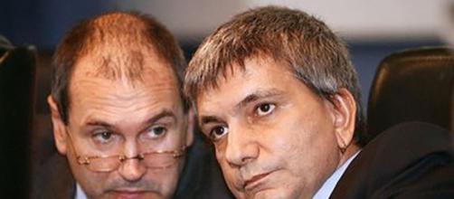 Paolo Ferrero e Nichi Vendola ex leader della sinistra