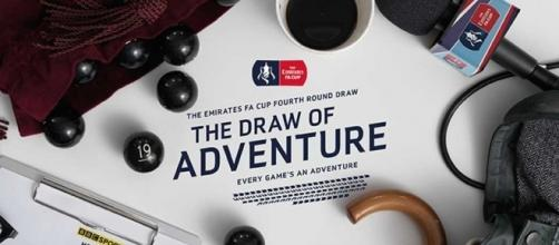 The fourth round draw took place live on BBC Two on January 9th (Via TheFA.com)