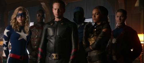 The Justice Society of America in 'Legends of Tomorrow'/Photo via screencap, 'Legends of Tomorrow'/The CW