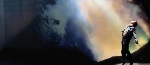 Travis Walton, ex falegname, dell'Arizona, vittima du un presunto rapimento alieno nel 1975.