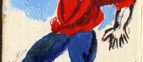 Una carta dipinta da Renato Guttuso