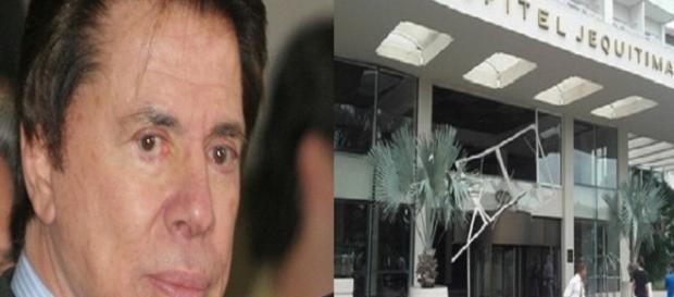 Explosão na casa de Sílvio Santos