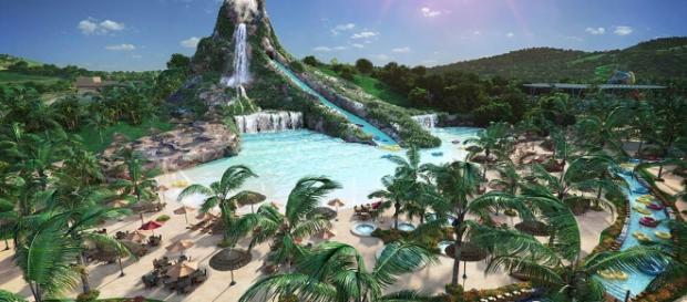 Nesse mês foi inaugurado em Minas Gerais o maior parque aquático do estado para o verão