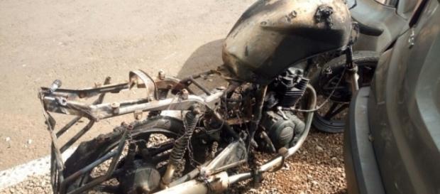 O motociclista não resistiu ao acidente e acabou falecendo no hospital