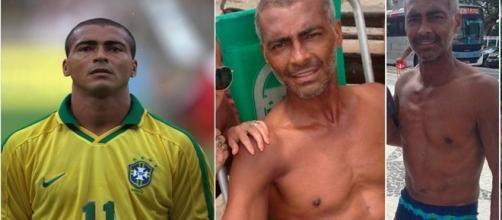 A forma física do ex-jogador chamou a atenção nas redes sociais (Foto: Reprodução/Instagram)