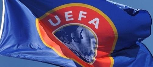 Bandiera UEFA (Union of European Football Association)