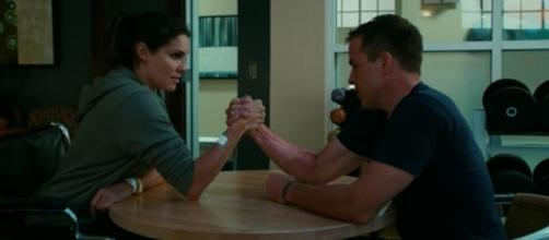 Kensi (Daniela Ruah) and Sullivan (Kurt Yaeger) in 'NCIS: LA'/Photo via screencap, 'NCIS: LA'/CBS