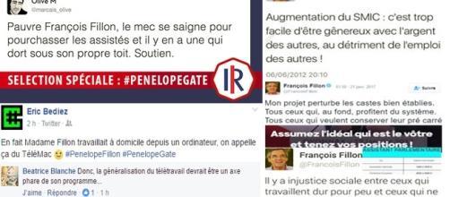 Les citations de François Fillon suscitent, sur Facebook ou Twitter, davantage d'ironie que les faits eux-mêmes