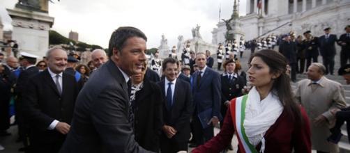 Renzi e la Raggi. Quale futuro per Roma?