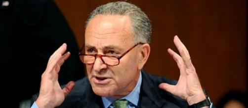 Schumer breaks out in tears over Trump's ban. Photo: Blasting News Library - nydailynews.com