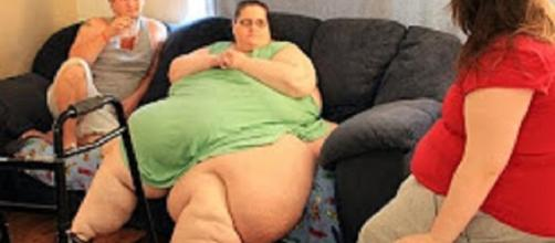 "Source: Youtube TLC ""My 600-lb Life"" Kirstin Perez beats drugs"
