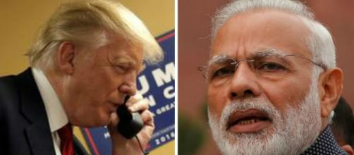 US President Donald Trump calls up PM Narendra Modi - delhidailynews.com. BN suppport