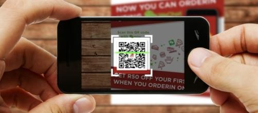 WeChat users rely on QR codes to communicate. (Photo via WeChat)