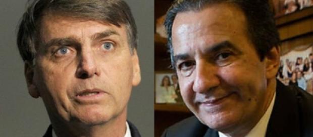 Bolsonaro e Silas Malafaia (Via: Notícias Gospel)