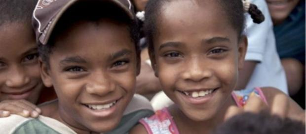 Catherine e sua prima Carla, guevedoces da República Dominicana.