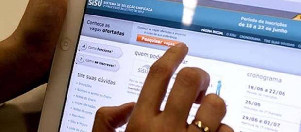 Estudantes não conseguem finalizar inscrições para o SISU