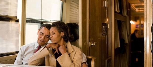 Michelle și Barack. Soții Obama