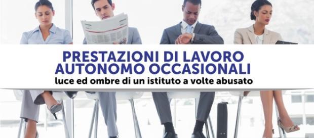 Prestazioni di lavoro autonomo occasionali: tutte le notizie utili