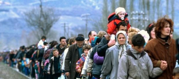 refugiados en busca de un lugar mejor